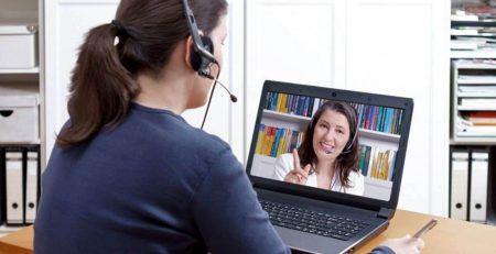 Học trực tuyến với giáo viên