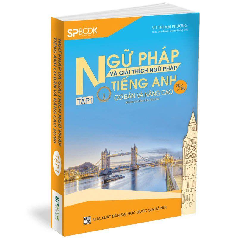 Sách ngữ pháp và giải thích ngữ pháp của cô Vũ Thị Mai Phương