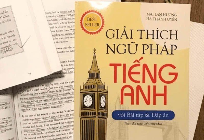 Sách giải thích ngữ pháp tiếng anh của cô Mai Lan Hương